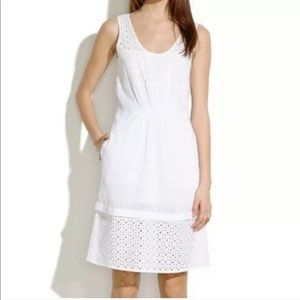 Madewell Love Song Eyelet Dress